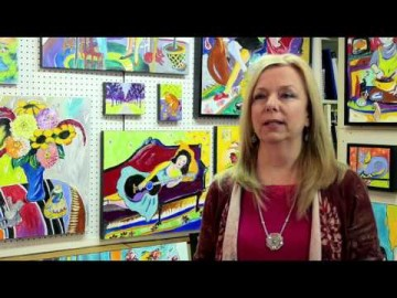 Stacie Flint - Vibrant Painter
